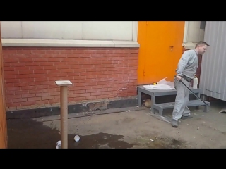 Казачья шашка из карбона , испытание , рубка