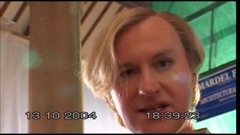 Видеодневник Стива Пембертона со съёмок Апокалипсиса Лиги Джентльменов (русские субтитры)