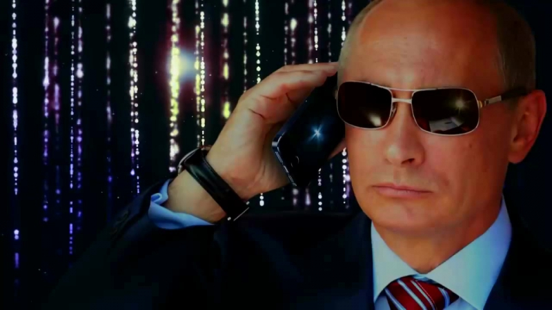 Поздравления с днем рождения от В.В. Путина в живом диалоге (не в записе)