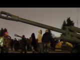 Военно-историческая реконструкция салюта 1944 года -27 января день полного снятия блокады Ленинграда