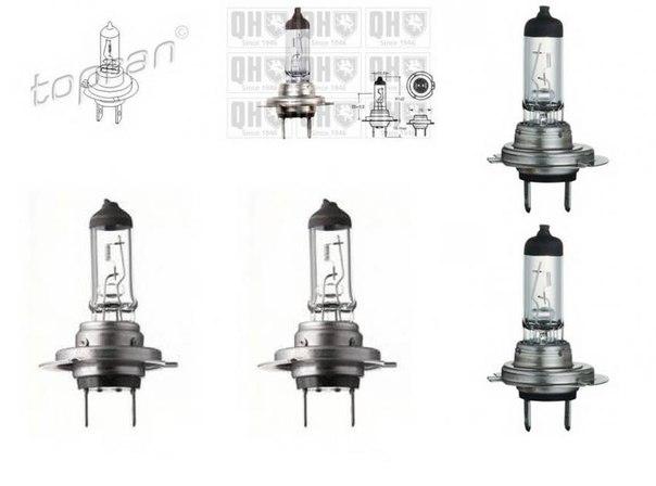 Лампа накаливания, фара дальнего света; Лампа накаливания, основная фара; Лампа накаливания, противотуманная фара; Лампа накаливания, противотуманная фара для AUDI ALLROAD (4BH, C5)