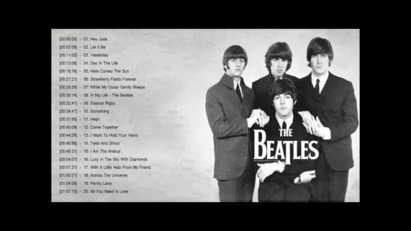 The Beatles Greatest Hits Full Album 2017   Top 20 Best Songs Of The Beatles