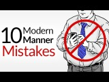 10 Modern Manner Mistakes  Bad Etiquette That KILLS First Impressions