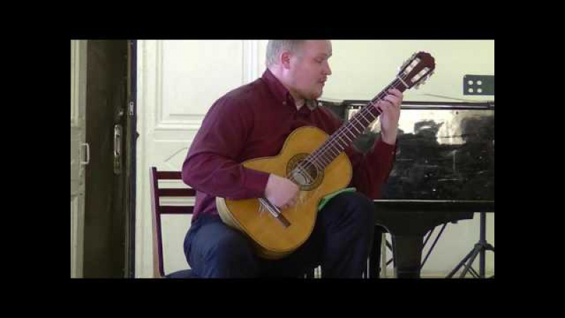 A.Barrios - Vals №4. G.Raspopov - guitar