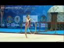 Ulyana Travkina Hoop Zhuldyz Cup Astana 2016