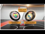 Highlights: Fenerbahce Istanbul-Real Madrid. Евролига. Финал четырех. Обзор. Фенербахче - Реал