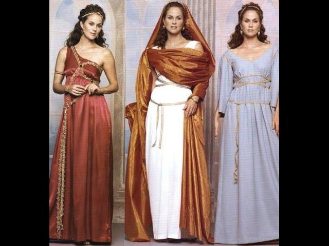История моды: Античность. Римское изящество (1 из 5)