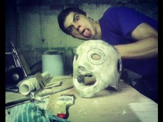 Как Сделать маску Кори Тейлора Ч1 /How to create Corey Taylor mask Part 1