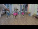 Танец с обручами под шотландскую музыку