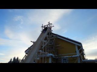 World first backyard Killer loop sledge hill
