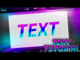 HOW TO MAKE COOL CARTOON TEXT ON ANDROID (PS TOUCH)