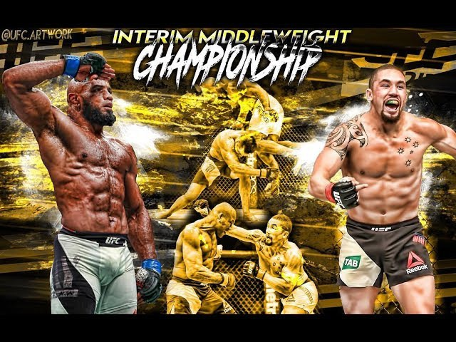UFC 213: ROMERO VS WHITTAKER