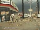 Extreme Wind Video Derecho Downburst in Hudson Oaks Texas