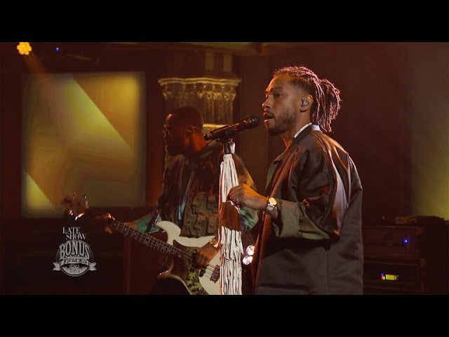 Miguel - Come Through And Chill - The Late Show