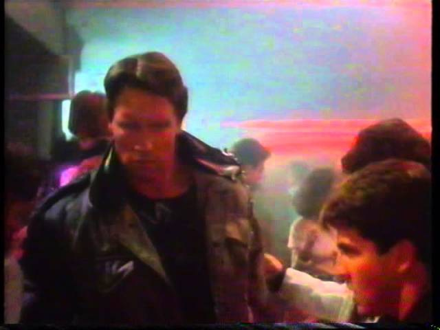 The Terminator 1984 Tech Noir bar scene (proper VHS version)