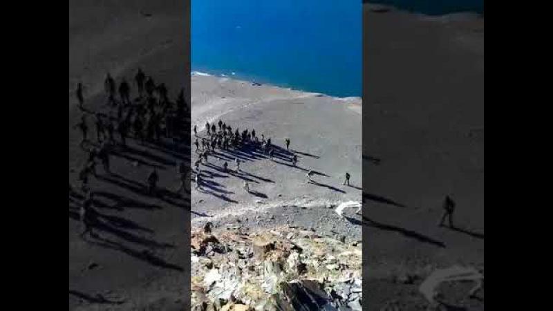 India China Troop Clash At Ladakh Aug 2017