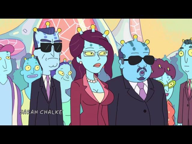 Рик и Морти 2 сезон 3 серия - Аутоэротическая ассимиляция (Сыендук) | Rick and Morty S02E03 203 - Auto Erotic Assimilation
