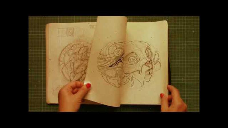 Sketchbook 2009-2012 by Irina Vinnik