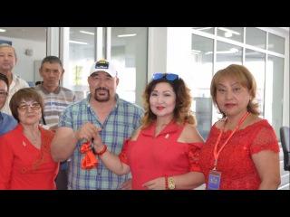 G-TIME CORPORATION 25.08.2017 г. Вручение Автомобиля партнеру из Алматы