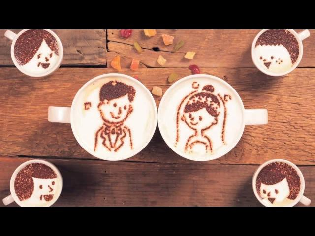 Трогательная история жизни двух чашечек кофе