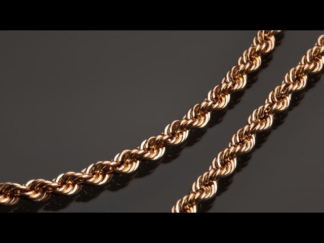 Как делают золотые цепочки Производство цепочек из золота
