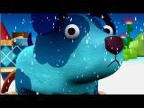 Мультик Деревяшки - Дождь - 2 серия