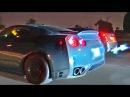 L.A. Street Racing - GTR vs CTS-V vs Vettes vs Supra