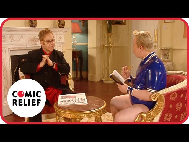 Little Britain meets Elton John   Comic Relief