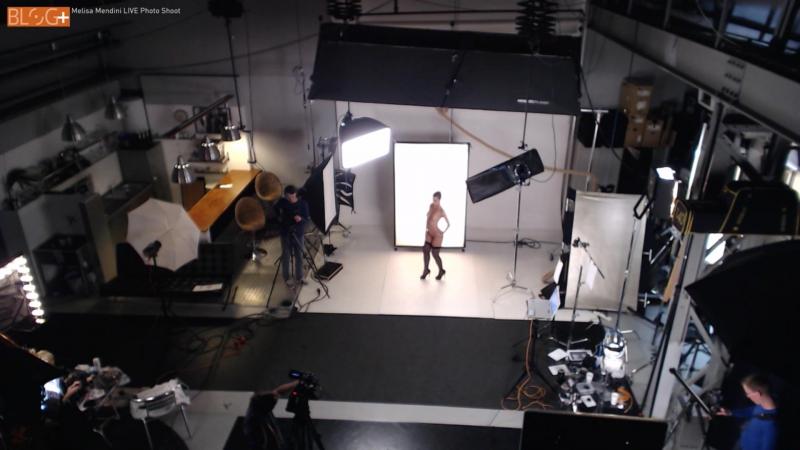 'BACKLIGHTING_ Simple Light' starring Melisa Mendini - Lighting