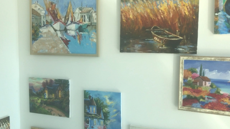 Живопись и рисунок в Адлере