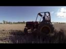 Самодельный трактор на шинах Nokian