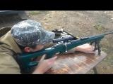 Как стреляет ТРЁХЛИНЕЙКА, винтовка Мосина на 327 метров...!!!