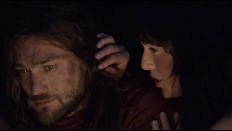 Любовная сцена из сериала Спартак. Кровь и песок