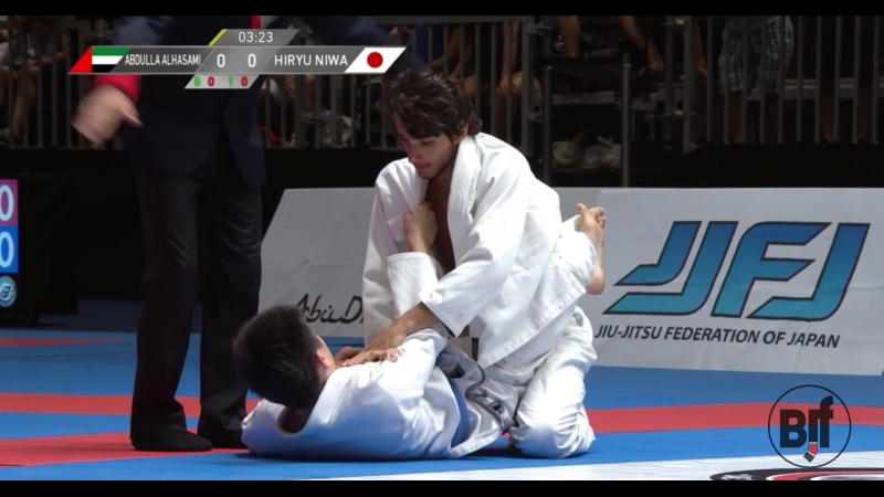 Abdulla Alhasami vs Hiryu Niwa TokyoGS бжж какпоучебнику