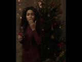Aminata Priecīgus Ziemassvētkus! ☺️🎄🎶💋🎁 Merry Christmas!!! ❤️💋😳💃🏾💋 @cocacola_lv