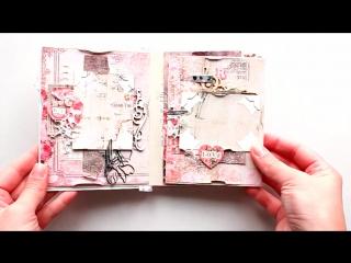 Скрапбукинг   Как создать мини-альбом   Декорируем странички
