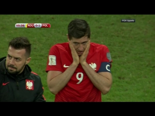 Роберта Левандовского ранили файером