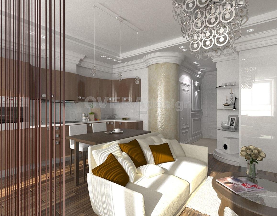 Проект квартиры 47 м.