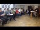 Фрагмент репетиции оперы Дж.Верди Травиата артистами хора театра и маэстро Маурицио Донеса.