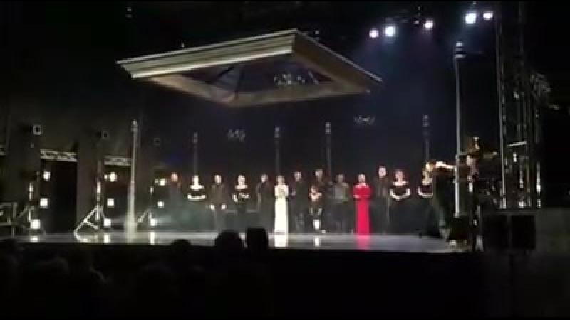Моника Беллуччи на спектакле литовского театра A|ch