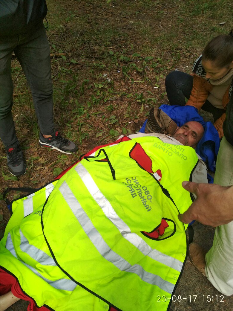 Поисковая группа нашла пропавшего несколько дней назад пенсионера в лесу
