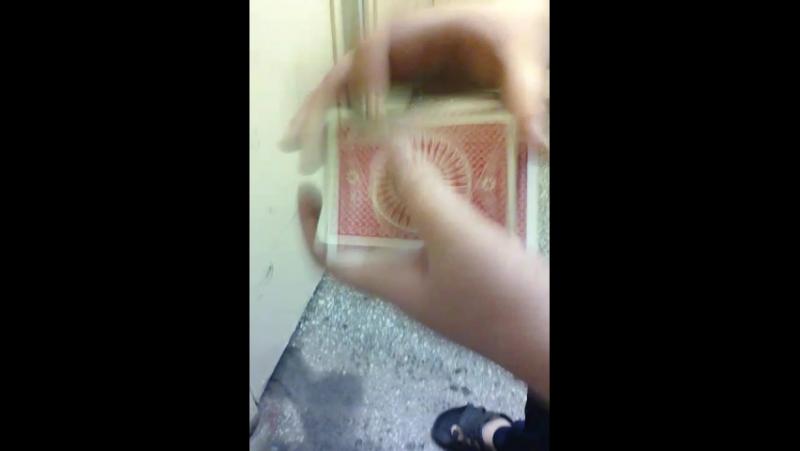 крутой карточный фокус