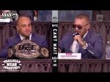 UFC 205: Лучшие моменты с пресс-конференции (Конор Макгрегор, Эдди Альварез, Тайрон Вудли, Джереми Стивенс)