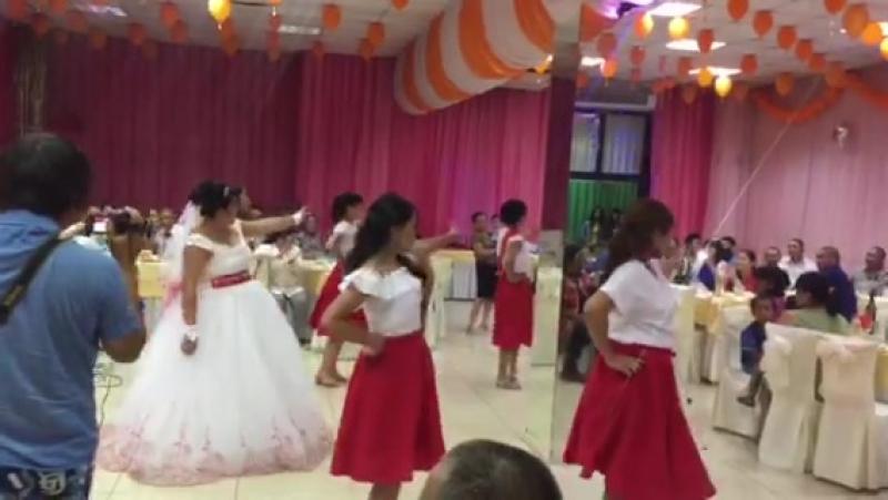 Свадебные танцы подружки и невесты 21.07.2017г.
