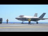 ВМС США - F-35C Stealth Fighters Авианосец Flight Testing [720p]