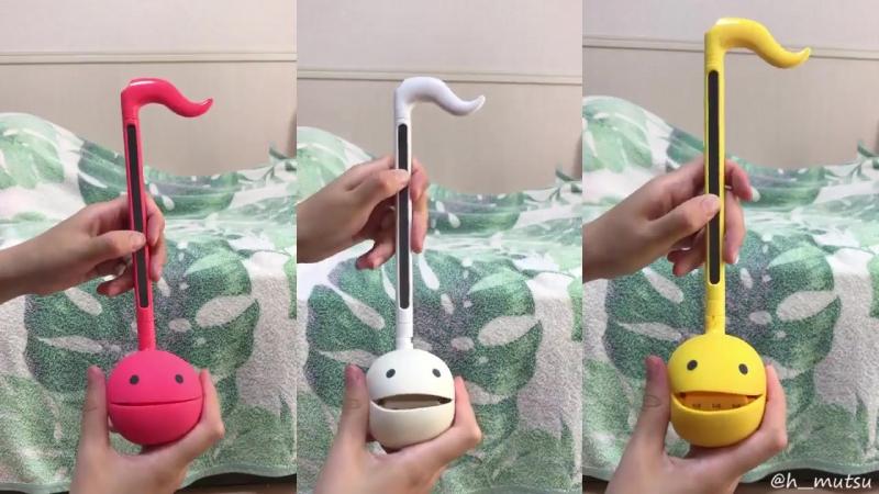ドラクエOPを演奏する3匹のオタマトーン