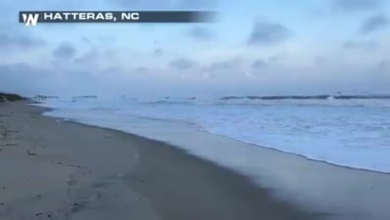 Some coastal areas of the Carolinas are already seeing the impacts of Jose as it gets closer to the eastern seaboard.