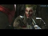 Injustice 2 - Red Hood vs Joker - Intros & Clashes (Красный Колпак против Джокера) rus