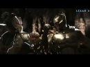 Injustice 2 - Batman vs Bane - Intros Clashes Бэтмен против Бэйна rus