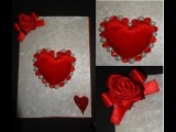 Paper Crafts How to make a beautiful Valentine's Day heart greeting card